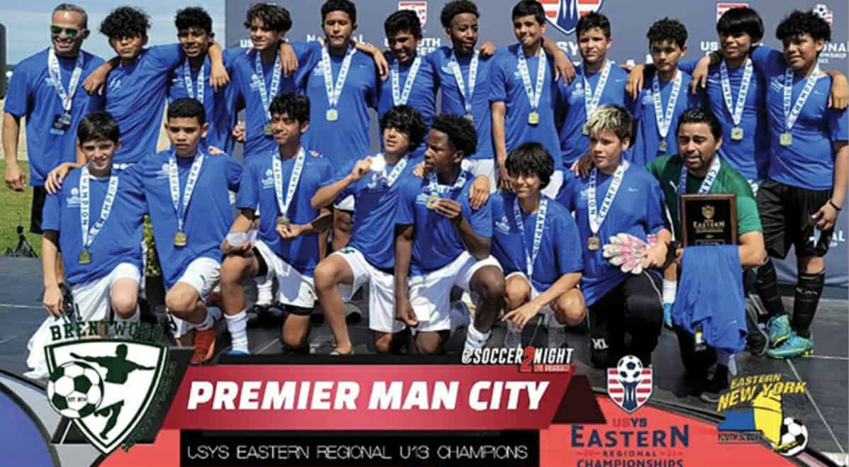 HEADING FOR THE SUNSHINE STATE: Brentwood Premier Man City aims for Boys U-13 national title - frontrowsoccer.com