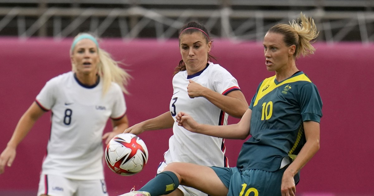 USWNT ties with Australia, advances to soccer knockouts - NBC News