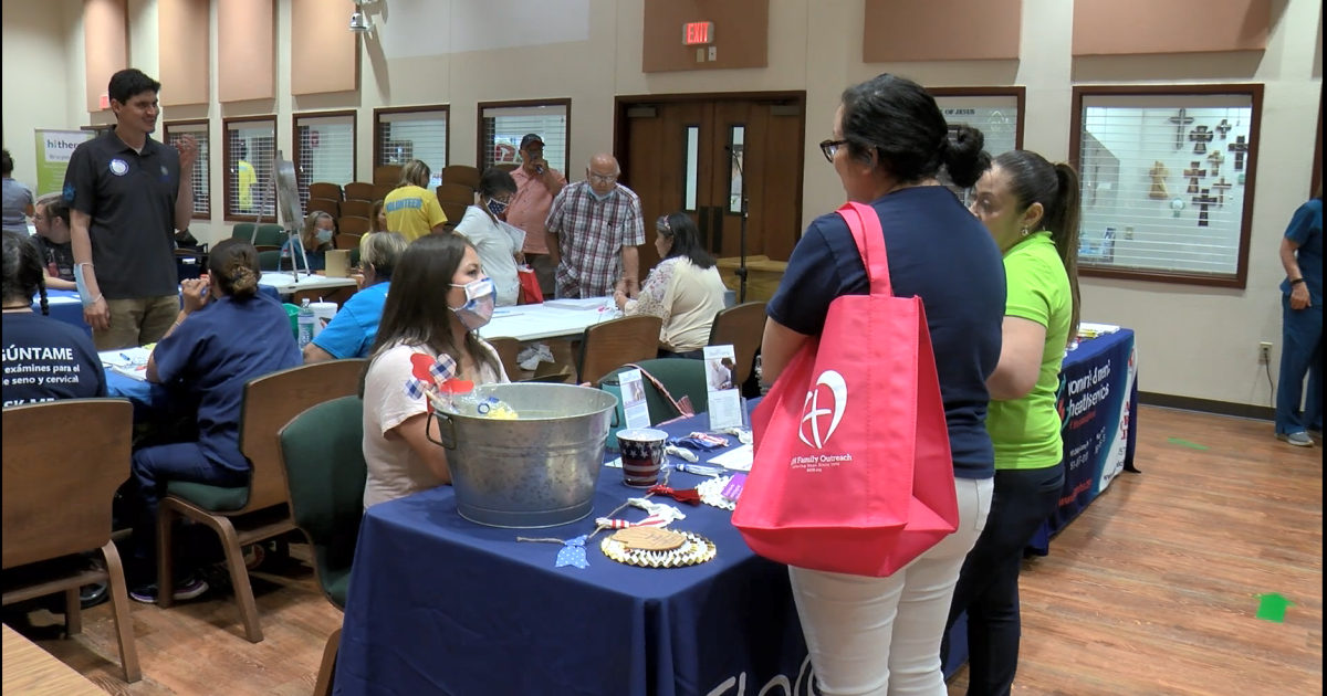Local health fair aims to inform about healthy and active lifestyle - KRIS Corpus Christi News