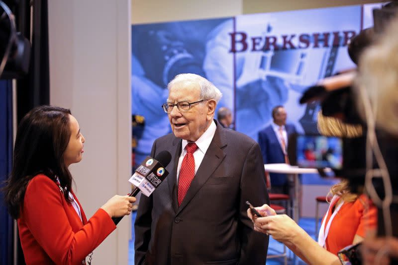Berkshire Hathaway appears to buy back more stock - Yahoo Finance