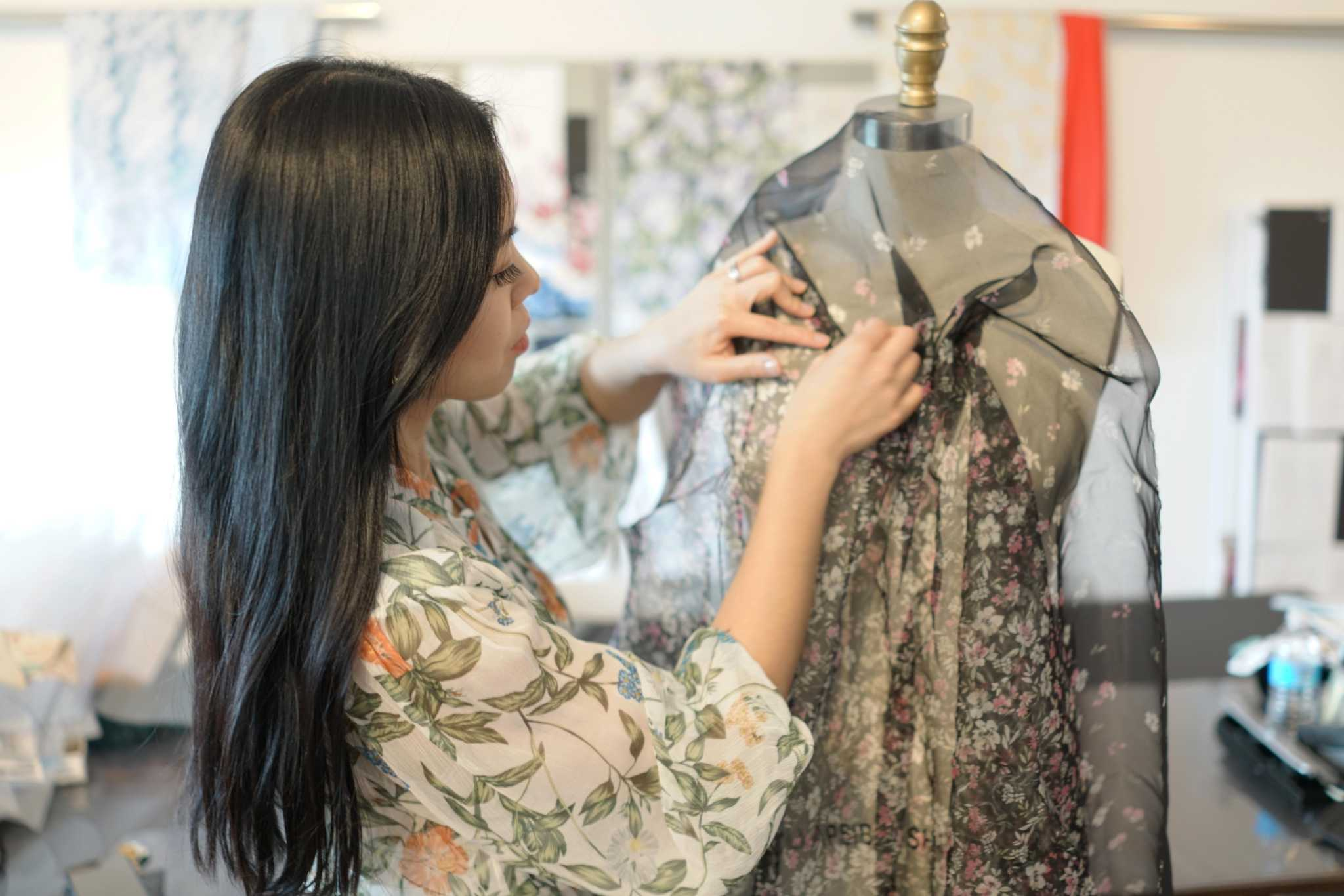 Meet Houston fashion designer Christy Lee and her luxe prints - Houston Chronicle